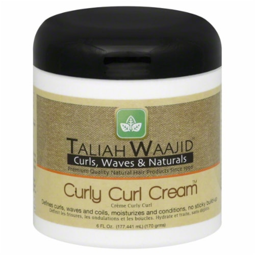 Taliah Waajid Curly Curl Cream Perspective: front