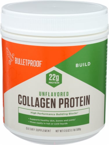 Bulletproof Unflavored Collagen Protein Perspective: front