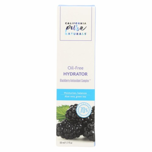 California Pure Naturals Blackberry Antioxidant Complex Oil-Free Hydrator Perspective: front