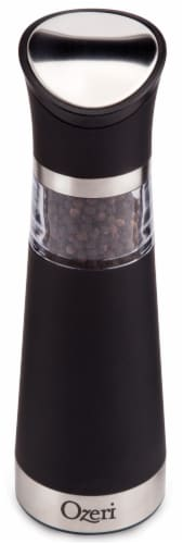 Ozeri Graviti Pro Electric Pepper Mill and Grinder, BPA-Free Perspective: front