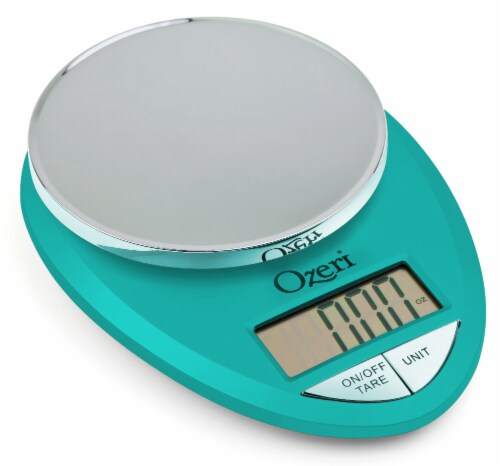 Ozeri Pro Digital Kitchen Food Scale, 0.05 oz to 12 lbs (1 gram to 5.4 kg) Perspective: front
