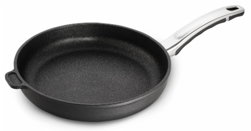 """Ozeri Professional Series 10"""" Hand Cast Ceramic Earth Fry Pan, 100% Made in DE Perspective: front"""