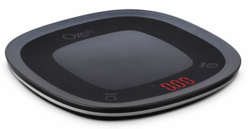 Ozeri Touch Waterproof Digital Kitchen Scale, Washable and Submersible Perspective: front