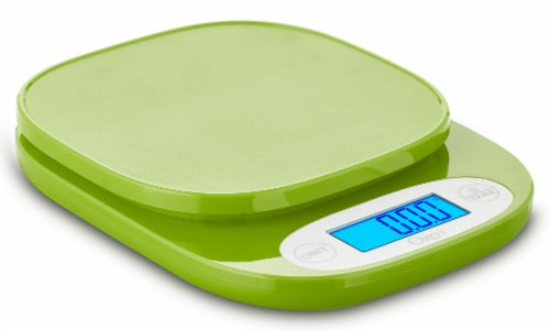 Ozeri ZK24 Garden and Kitchen Scale, with 0.5 g (0.01 oz) Precision Weighing Technology Perspective: front