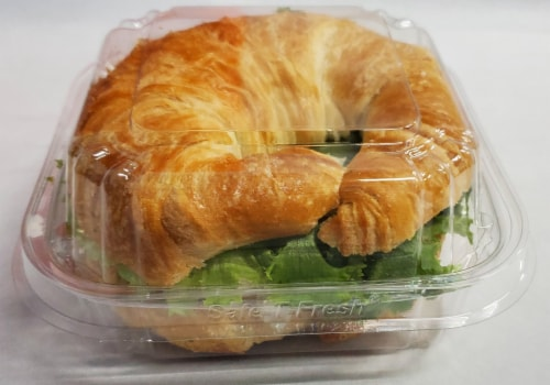 Fresh Kitchen Chicken Salad Croissant Perspective: front
