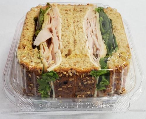 Fresh Kitchen Maple Turkey Sandwich Perspective: front