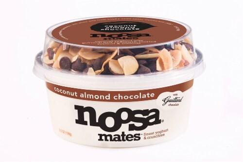 Noosa Mates Coconut Almond Chocolate Yogurt Perspective: front