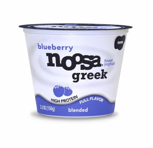 Noosa Hilo Blueberry Blended Yogurt Perspective: front
