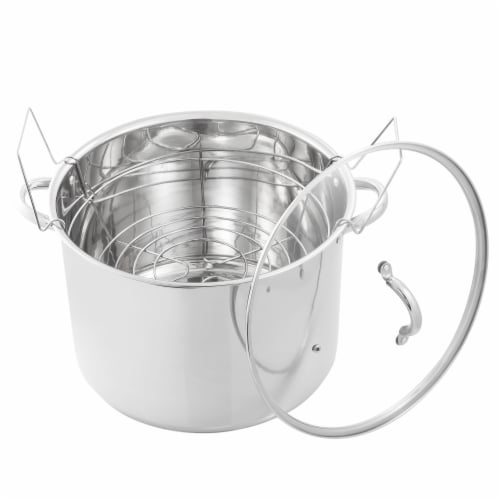McSunley Stainless Steel Canner Perspective: front