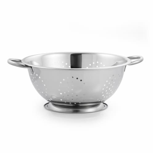 McSunley 5 Qt. Stainless Steel Colander 726 Perspective: front