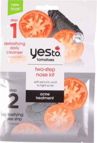 Yes To Charcoal 2-Step Detoxifying Nose Kit Perspective: front