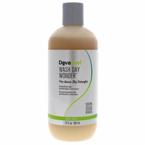 Wash Day Wonder Pre-Cleanse Slip Detangler by DevaCurl for Unisex - 12 oz Masque Perspective: front