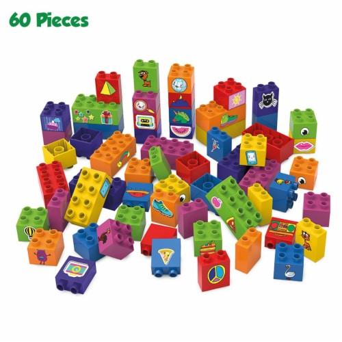 BiOBUDDi Learning to Build Set - 60 Blocks Perspective: front