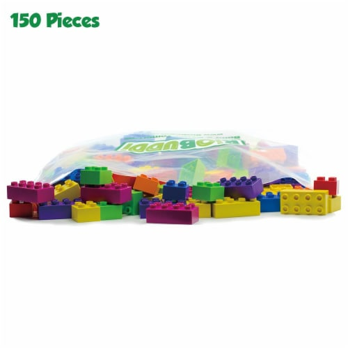 BiOBUDDi 150 Blocks Assorted Set Perspective: front