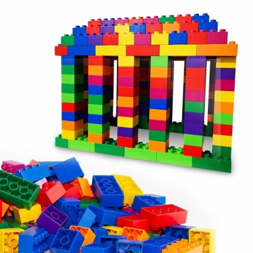 500 pcs BiOBUDDi Assorted Blocks Set Perspective: front