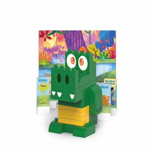 Safari 100649 Swampies - Gator Blocks Set, Multi Color Perspective: front