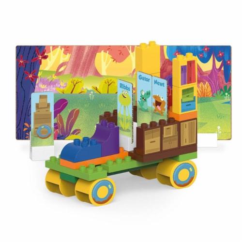 44 pcs BiOBUDDi Swampies – Swamp Truck Building Blocks Set Perspective: front