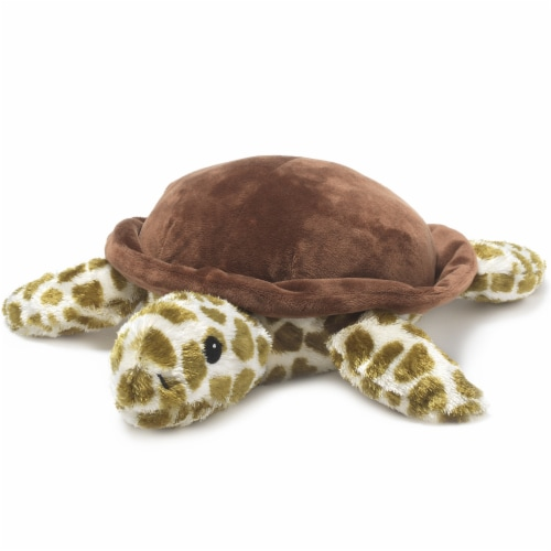 Warmies Turtle Stuffed Animal Perspective: front