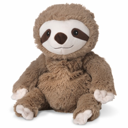 Warmies Sloth Plush Perspective: front