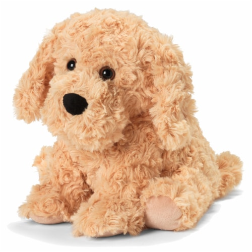 Warmies Golden Dog Microwavable Scented Plush Perspective: front