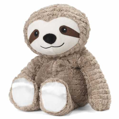 Warmies My First Sloth Plush Perspective: front