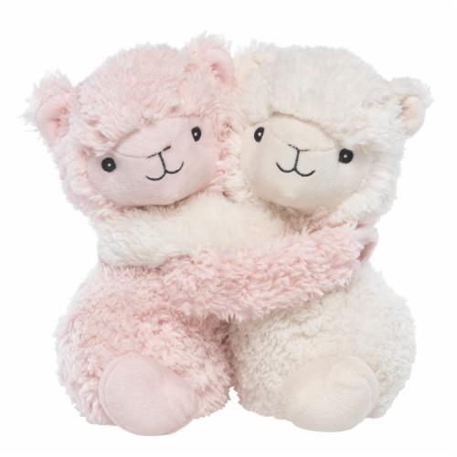 Warmies Hugs Llama Plush Perspective: front