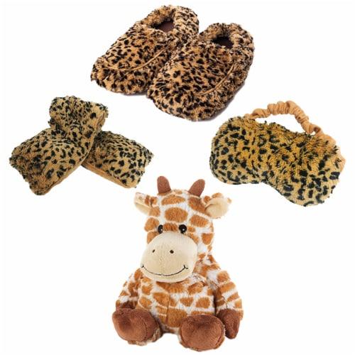 Warmies Giraffe Scented Plush Sleep Set Perspective: front