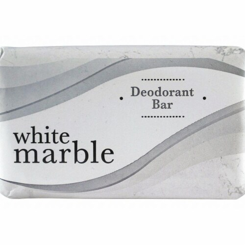 White Marble Body Soap,Bar,#2-1/2,Fresh,PK200 Perspective: front
