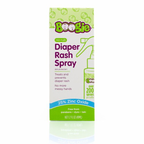 Boogie Bottoms No-Rub Diaper Rash Spray Perspective: front