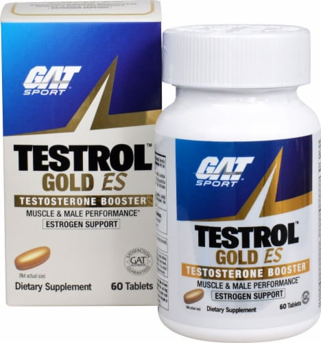 GAT  Testrol Gold Perspective: front