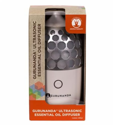 Gurunanda Aromatherapy Ultrasonic Essential Oil Diffuser Perspective: front