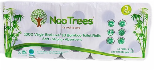 NooTrees Bamboo Bath Tissue Perspective: front