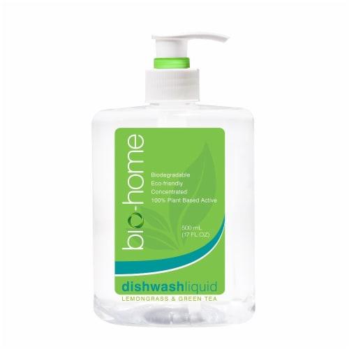 bio-home Lemongrass & Green Tea Dishwashing Liquid Perspective: front