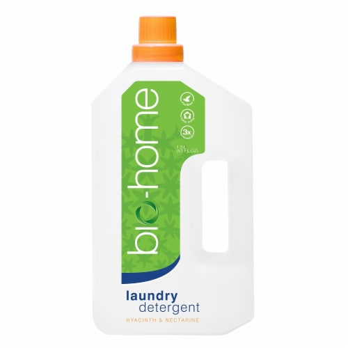 bio-home Hyacinth & Nectarine Regular Laundry Detergent Perspective: front