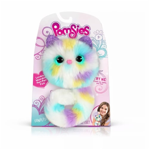 Pomsies - Funfetti Plush Perspective: front