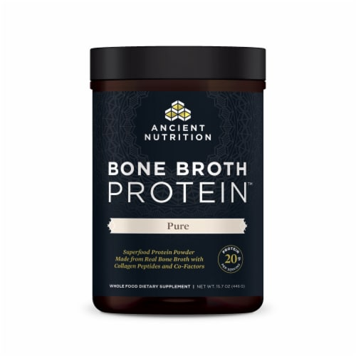 Ancient Nutrition Protein Pure Bone Broth Perspective: front