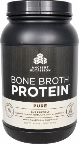 Ancient Nutrition  Bone Broth Protein™   Pure Perspective: front