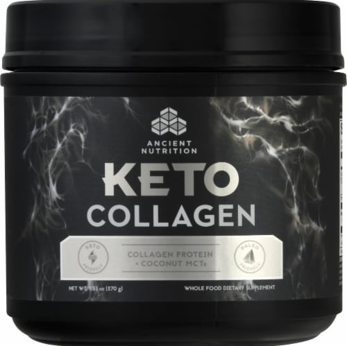 Ancient Nutrition Keto Collagen Perspective: front
