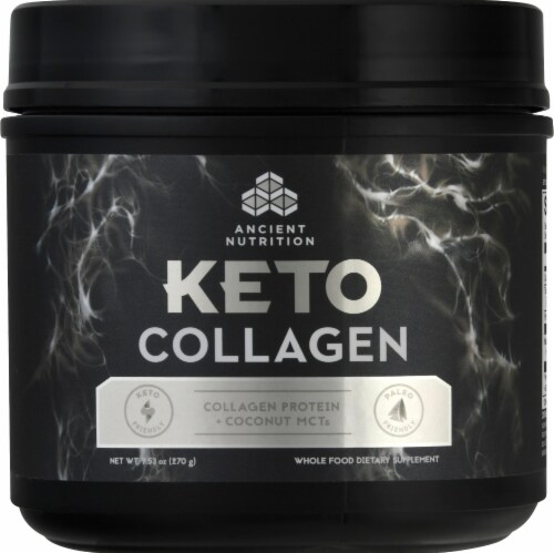 Ancient Nutrition Keto Collagen Powder Perspective: front