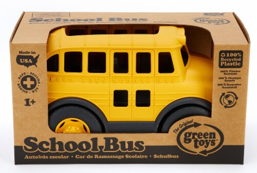 Green Toys School Bus Perspective: front