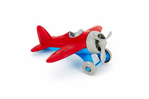 Green Toys Airplane - Red Perspective: front