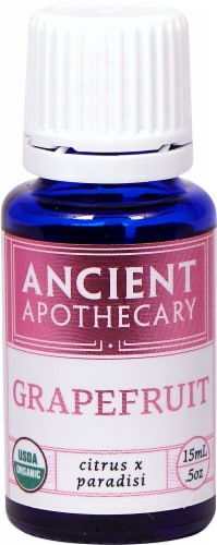 Ancient Apothecary Organic Essential Grapefruit Oil Perspective: front
