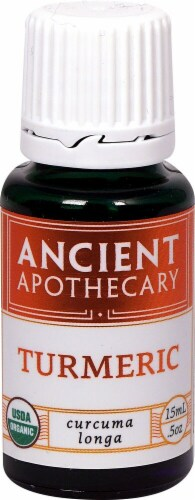 Ancient Apothecary Organic Essential Tumeric Oil Perspective: front