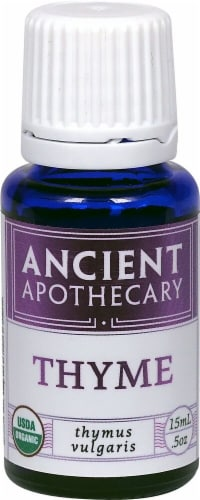 Ancient Apothecary Organic Essential Thyme Oil Perspective: front