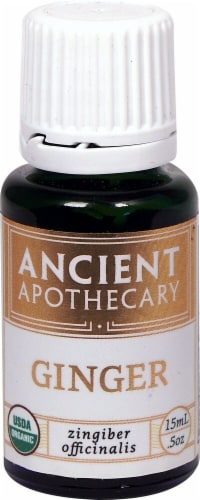 Ancient Apothecary Organic Essential Ginger Oil Perspective: front