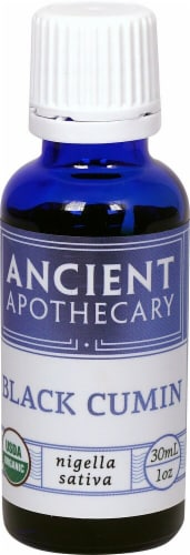 Ancient Apothecary Organic Essential Black Cumin Oil Perspective: front