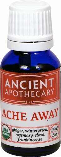 Ancient Apothecary Organic Essential Ache Away Oil Perspective: front