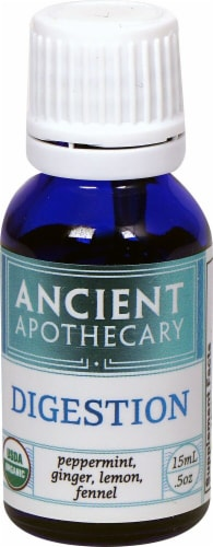 Ancient Apothecary Organic Essential Digestion Blend Oil Perspective: front