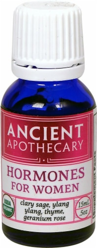 Ancient Nutrition Ancient Apothecary Organic Hormones for Women Drops Perspective: front