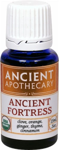 Ancient Nutrition Ancient Apothecary Organic Ancient Fortress Drops Perspective: front